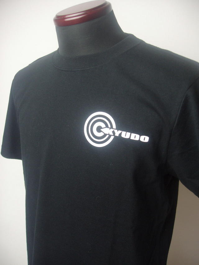 弓道Tシャツ ブラック
